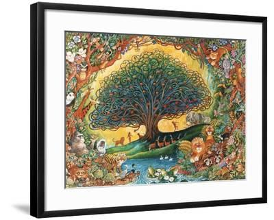The Tree of Knowledge (Eden)-Bill Bell-Framed Giclee Print