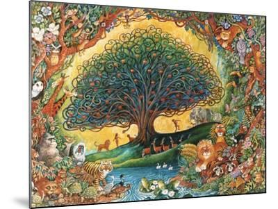 The Tree of Knowledge (Eden)-Bill Bell-Mounted Giclee Print