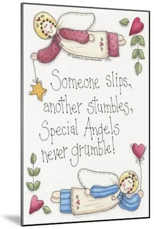 Angels Never Grumble-Debbie McMaster-Mounted Giclee Print