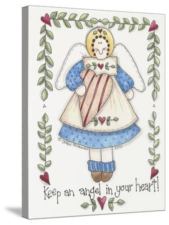 Angel in Your Heart-Debbie McMaster-Stretched Canvas Print
