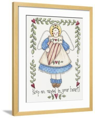 Angel in Your Heart-Debbie McMaster-Framed Giclee Print