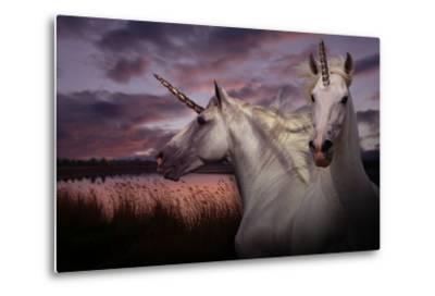 Unicorn 70-Bob Langrish-Metal Print