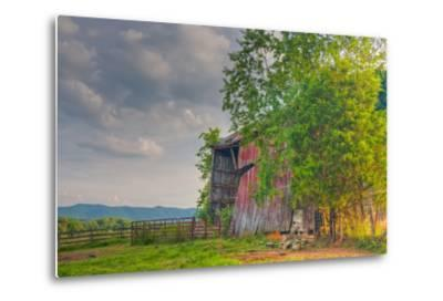 Mayberry Barn-Bob Rouse-Metal Print