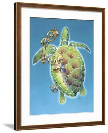 A Race Against Time-Durwood Coffey-Framed Giclee Print