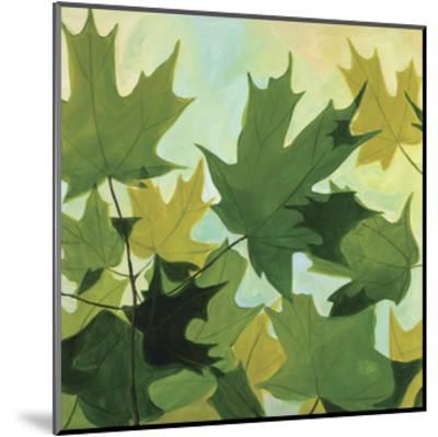 Summer Leaves-Catherine Breer-Mounted Giclee Print