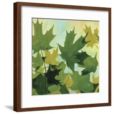 Summer Leaves-Catherine Breer-Framed Giclee Print