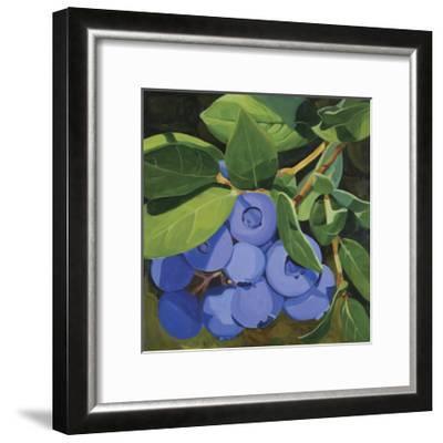 Blueberries-Catherine Breer-Framed Giclee Print