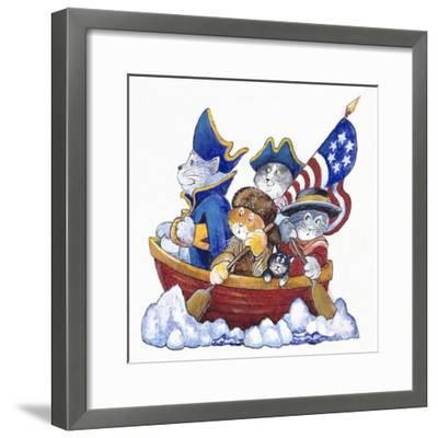 Potomac Cats-Bill Bell-Framed Giclee Print