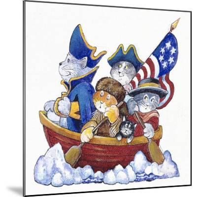 Potomac Cats-Bill Bell-Mounted Giclee Print