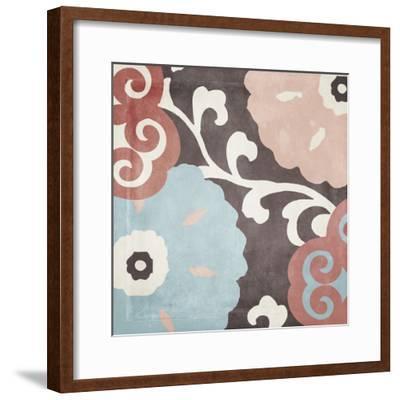 Umbrella Skies II-Color Bakery-Framed Giclee Print