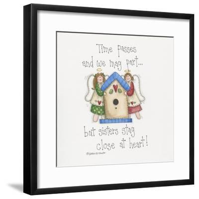 Close at Heart-Debbie McMaster-Framed Giclee Print