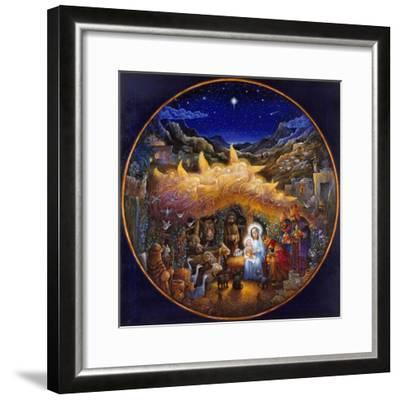 While Angels Watched...-Bill Bell-Framed Giclee Print