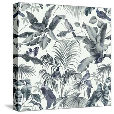 Jungle Canopy Steel Gray-Bill Jackson-Stretched Canvas Print