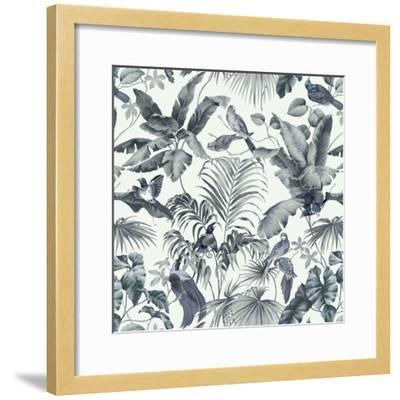 Jungle Canopy Steel Gray-Bill Jackson-Framed Giclee Print