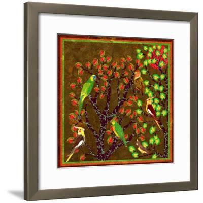 Bird Calls 21-David Sheskin-Framed Giclee Print