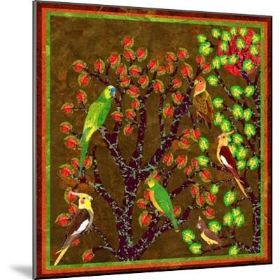 Bird Calls 21-David Sheskin-Mounted Giclee Print