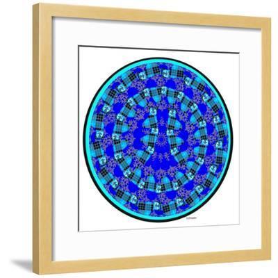 Cat Mandala XVII-David Sheskin-Framed Giclee Print