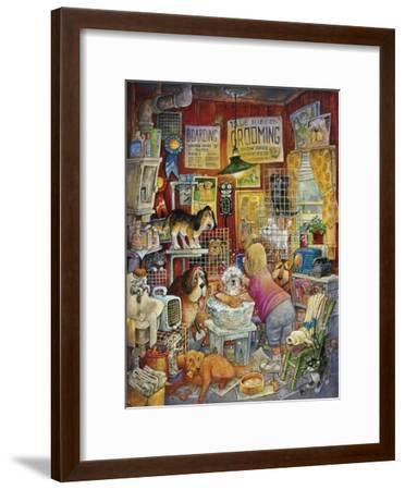 Blue Ribbon Groomer-Bill Bell-Framed Giclee Print