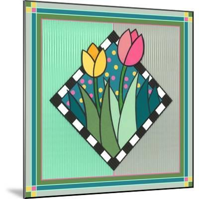 Tulips 2-Denny Driver-Mounted Giclee Print