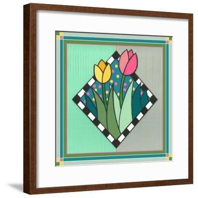 Tulips 2-Denny Driver-Framed Giclee Print
