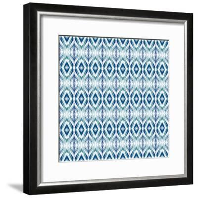 Blue Streaks-Deanna Tolliver-Framed Giclee Print