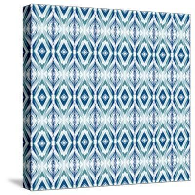 Blue Streaks-Deanna Tolliver-Stretched Canvas Print