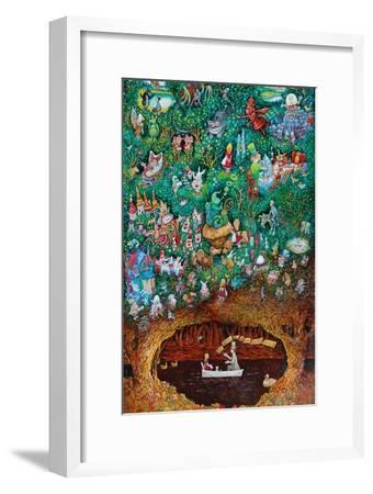 There Once Was a Girl Named Alice-Bill Bell-Framed Giclee Print