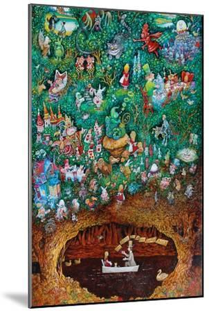 There Once Was a Girl Named Alice-Bill Bell-Mounted Giclee Print
