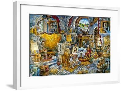 Mona 2 Spaghetti-Bill Bell-Framed Giclee Print