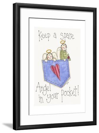 Angel in Your Pocket 2-Debbie McMaster-Framed Giclee Print