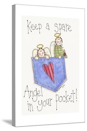 Angel in Your Pocket 2-Debbie McMaster-Stretched Canvas Print
