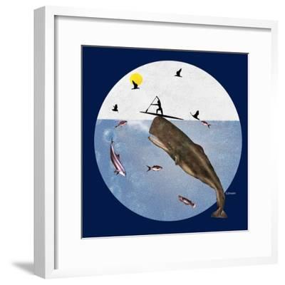 Fish Tales 50-David Sheskin-Framed Giclee Print