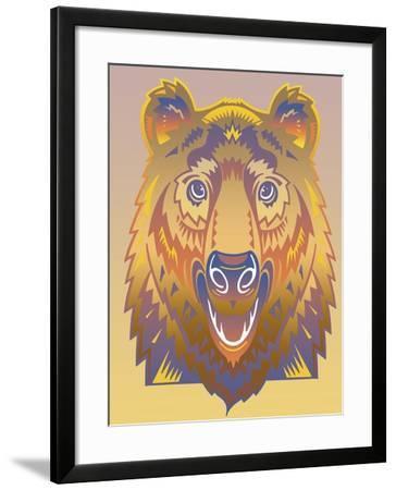 Bear-David Chestnutt-Framed Giclee Print