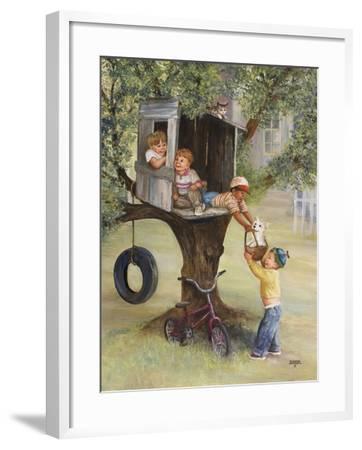 Tree House-Dianne Dengel-Framed Giclee Print
