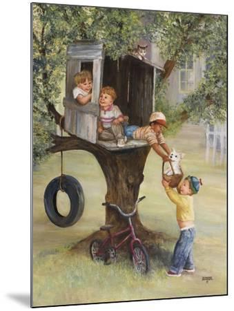 Tree House-Dianne Dengel-Mounted Giclee Print
