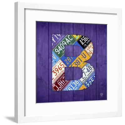 B-Design Turnpike-Framed Giclee Print