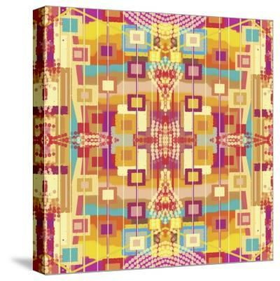 A Play of Squares-Deanna Tolliver-Stretched Canvas Print