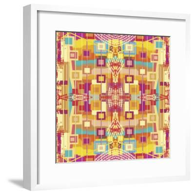 A Play of Squares-Deanna Tolliver-Framed Giclee Print