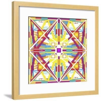 Abstract Cube-Deanna Tolliver-Framed Giclee Print