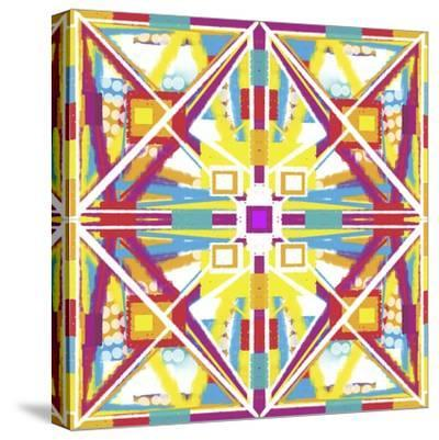 Abstract Cube-Deanna Tolliver-Stretched Canvas Print