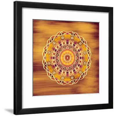 The Golden Disc-Deanna Tolliver-Framed Giclee Print