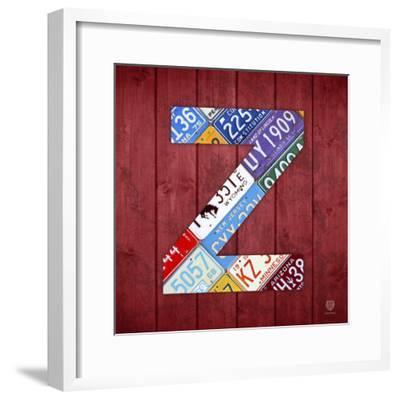 Z-Design Turnpike-Framed Giclee Print