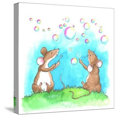 Bubble and Squeak-Emma Graham-Stretched Canvas Print