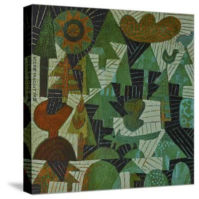 Fox in the Woods-Hilke Macintyre-Stretched Canvas Print