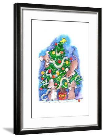 Oh Christmouse Tree!-Emma Graham-Framed Giclee Print