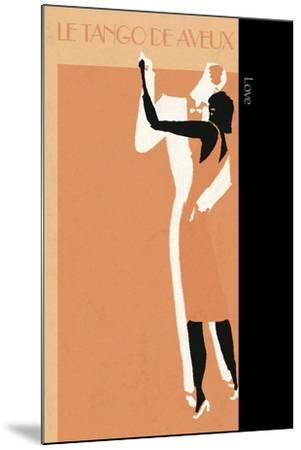 Love Tango-FS Studio-Mounted Giclee Print