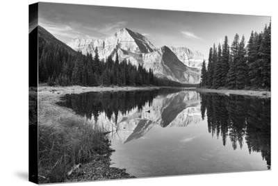 Glacier 16-Gordon Semmens-Stretched Canvas Print