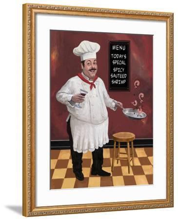 Shrimp Chef-Frank Harris-Framed Giclee Print