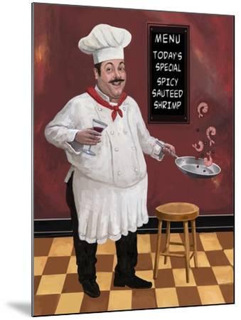 Shrimp Chef-Frank Harris-Mounted Giclee Print