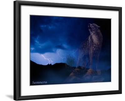 Distant Thunder-Gordon Semmens-Framed Giclee Print